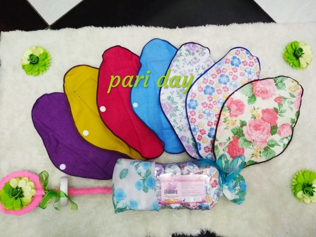 Pembalut Kain Pariday series isi 6pcs