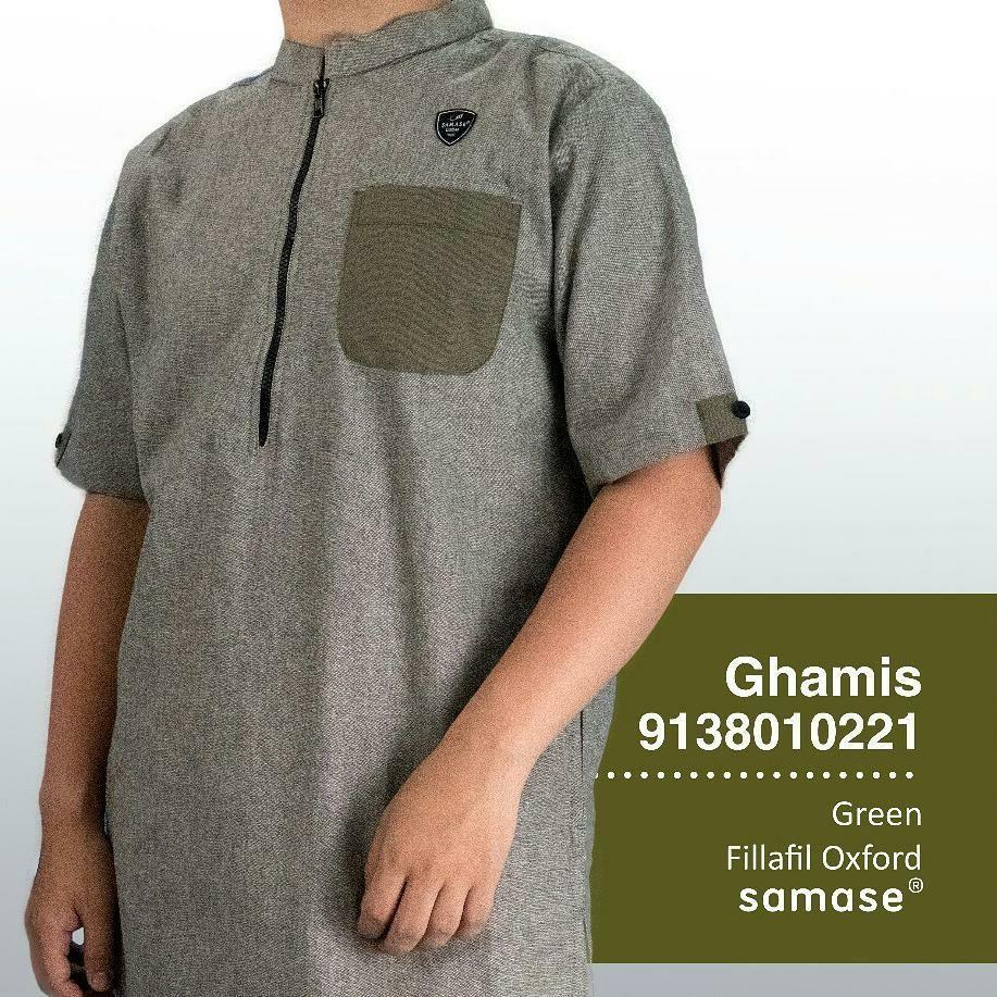Gamis Green Filosifi Oxorcities TG-3452